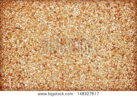 Background surface of gravel stone terrazzo floor