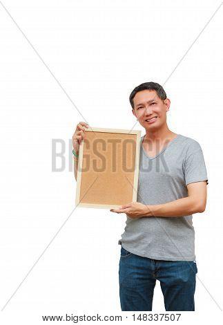 Holding Blank Board
