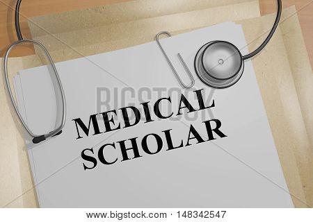 Medical Scholar Concept