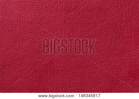 Light red leather texture background. Closeup photo. Reptile skin. The skin of a crocodile or a snake