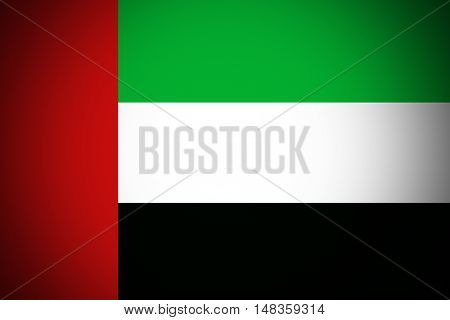 United Arab Emirates flag ,original and simple United Arab Emirates flag,UAE