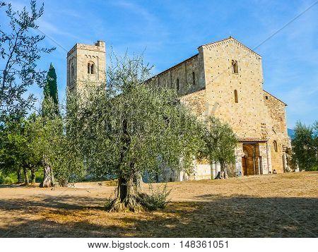 Hdr Sant Attimo Abbey, Italy