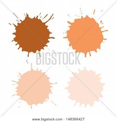 Paint Spots Or Blots