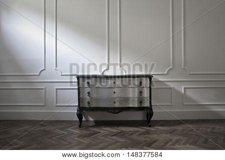 Vintage furniture inside a luxury house
