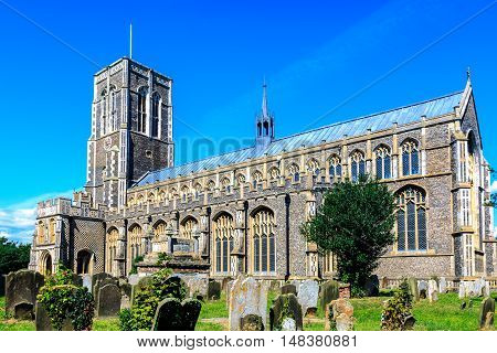 St Edmunds Church in Southwold, Suffolk,  UK