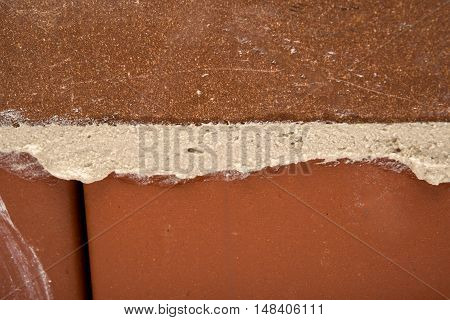 Red Brick - Urban rubble, solid, square, stone, stonemason, structure, surface Background