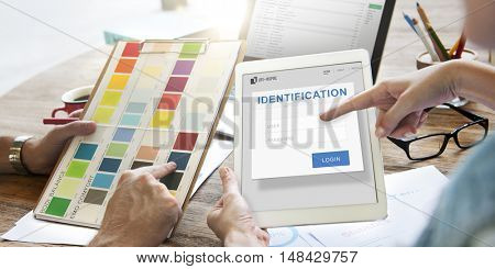 Identification Authorization Permission Accessible Concept