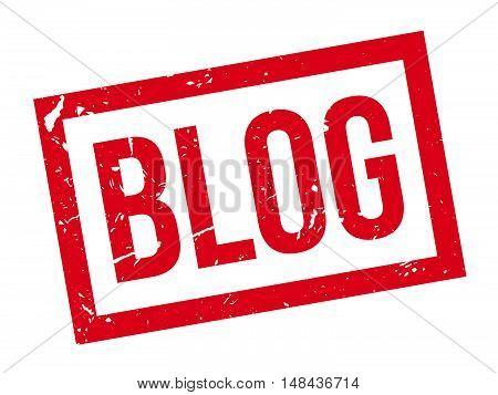 Blog Rubber Stamp