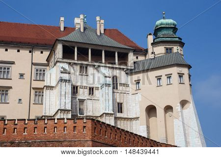 The oldest part of the Wawel Castle in Krakow. Poland. poster
