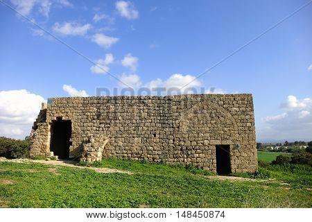 Samra ruins in Alexander River National Park Israel