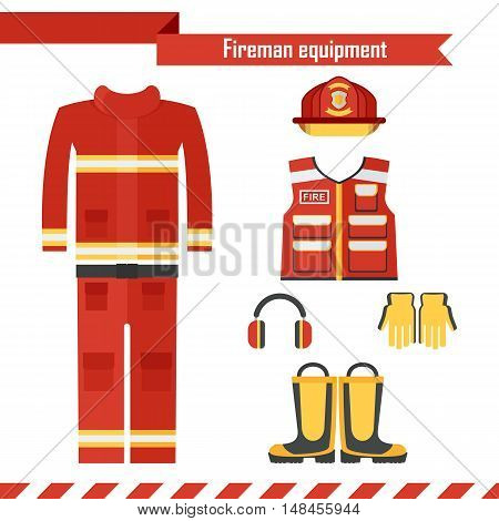 Vector Fireman Workwear