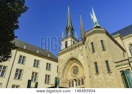 The Bautiful Cathedrale Notre Dame