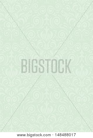 Light Mint Green Vintage Pattern Textured Background