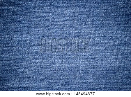 Closeup View To Abstract Space Of Empty Jean Texture For The Business Background