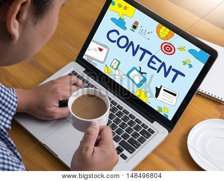 Content   (content Data Blogging Media&social Networking Connection )