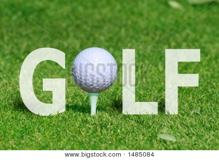 Golf Ball In