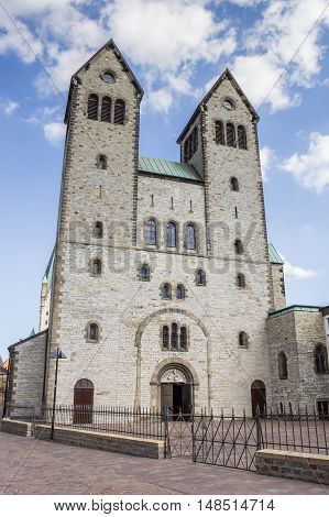 Abdinghof Church In The Historical Center Of Paderborn