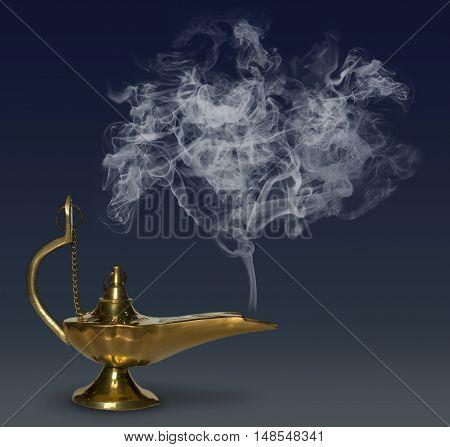 Aladdin's Magic Lamp genie mythology fantasy arabia
