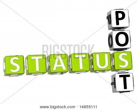 Status Post Crossword