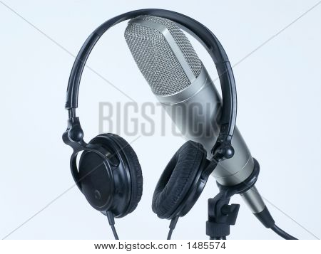 Headphones On Mic