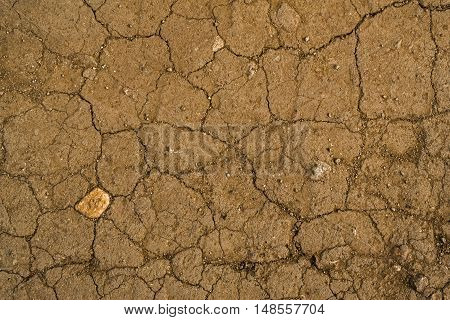 Texture of the soil, soil texture, nature background, cracked ground texture, ground, brown ground