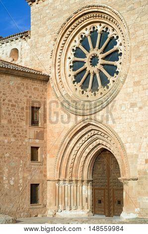 Santa Maria de Huerta cistercian monastery, Santa Maria de Huerta, Soria, Spain.