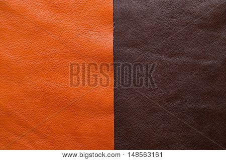 Genuine Cow Leather Background For Craftsmanship Working