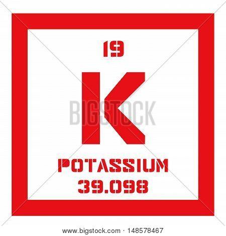 Potassium Chemical Element