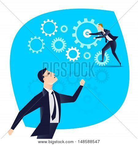 Business engine correctly identify the subordinate action