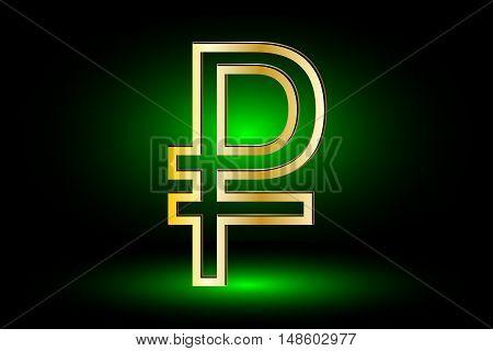 Russian ruble  symbol , ruble symbol ,