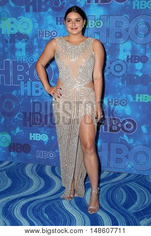 LOS ANGELES - SEP 18:  Ariel Winter at the 2016  HBO Emmy After Party at the Pacific Design Center on September 18, 2016 in West Hollywood, CA