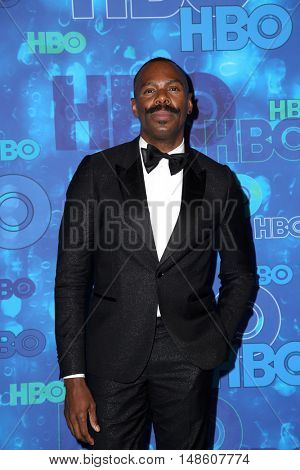 LOS ANGELES - SEP 18:  Colman Domingo at the 2016  HBO Emmy After Party at the Pacific Design Center on September 18, 2016 in West Hollywood, CA