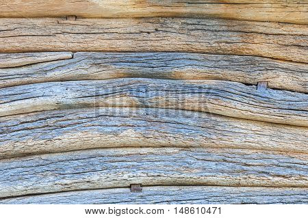 Vintage gray wooden wall background, old timber backdrop