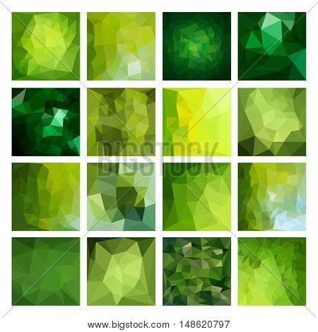 Polygonal vector design. Abstract Geometric illustration. Colorful backgrounds