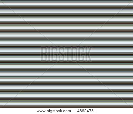 Background of bold stripes in multiple colors. Muted light colors recede for an illusion of ridges or of poles or columns if oriented vertically.