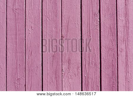 Pink Wooden Fence Texture.