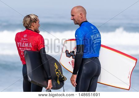 Mike Stewart (haw) With Tanner Mcdaniel (haw) During The Viana Pro