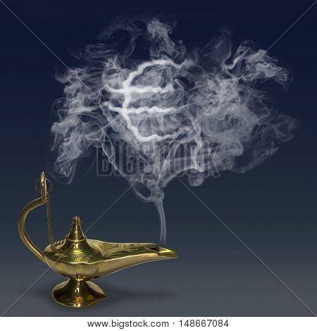 Aladdin's Magic Lamp genie mythology fairy tale
