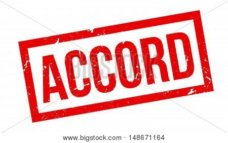 Accord Rubber Stamp