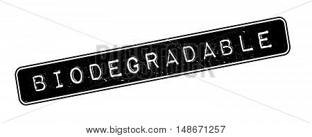 Biodegradable Rubber Stamp