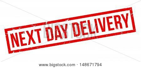 Next Day Delivery Rubber Stamp