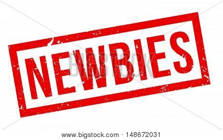 Newbies Rubber Stamp