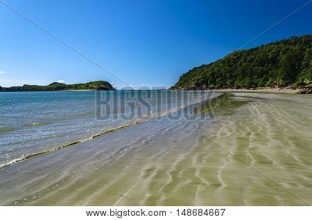 A remote beach in tropical Queensland, Australia.
