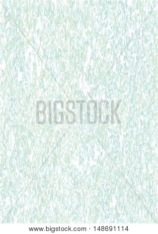 Vector marbling background. Turquoise marble texture. Abstract decorative backdrop. Stock vector.