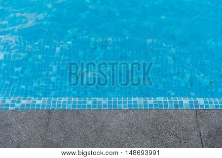 Black Granite Stone Pool Edge