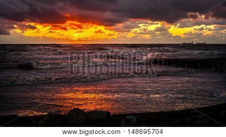 Sunset. Beautiful sunset Black sea. Gold sea sunset. Picture Sea sunset. Sea sunset background. Amazing sea sunset Sunset sea picture. Sunset sea waves. Summer sunset.