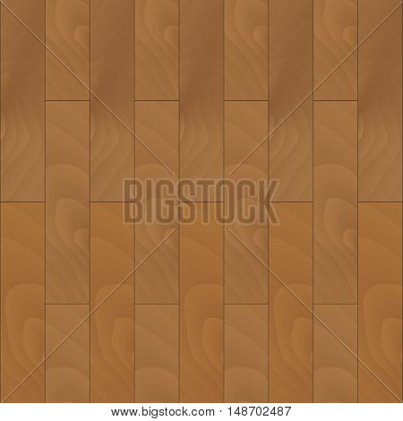 Wooden parquet seamless texture. Wooden floor and wood parquet. Vector illustration