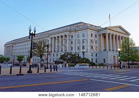 Longworth House Office Building In Washington