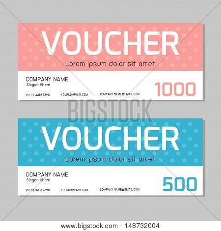 Gift voucher,voucher,Gift voucher template and modern pattern. Voucher template with premium pattern, gift Voucher template with colorful pattern. bright concept. Vector illustration