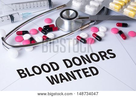 Blood Donors Wanted
